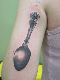 spoon tattoo