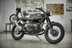 "Bmw R100 1986 ""Espresso"" by Garage Motorcycles"