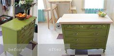 kitchen island dresser