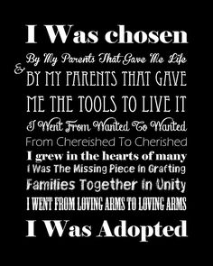 """Another beautiful graphic from """"Open Adoption, Open Heart"""". I think this would be great on the wall in the nursery… one more project while we wait to adopt :) Learn more about our family: www.JasonAndKristaAdoptMN.blogspot.com"""
