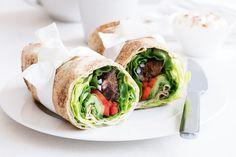 Paprika lamb kebab wraps main image