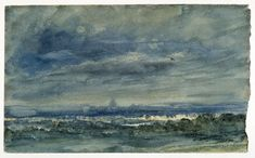 View at Hampstead, looking towards London, John Constable, 1833