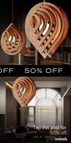 Indre - Art Deco Hanging Lamps / 50% Off Today!