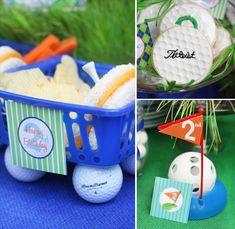 love it!...golf parties so cute!