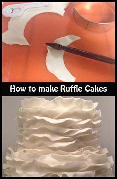 How to make Ruffle Cakes