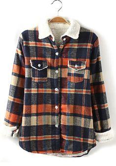 Fleece flannel. I love dressing like a lumber jack.