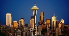 Seattle Skyline, Seattle Washington  http://www.derosaphotography.com/#