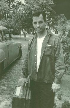 Jack Kerouac - Orlando,Florida - by Robert Frank,1959  ♥