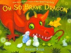 JJ FANTASY KIR. Dragon knows he is supposed to be brave, because that's what dragons do. He's so brave and valiant, he's ready to try out his fearsome roar! But when he hears something that scares him, he turns to his forest friends to find the noise, and to help him be brave. Young readers will relate to Dragon's fears, and delight in his quest to be brave.