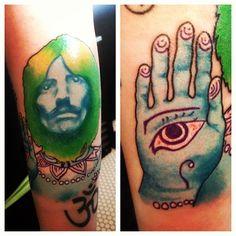 rock kock custom x tattoo
