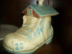 Old Lady In Shoe Cookie Jar