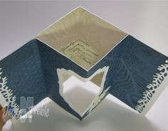 A Path of Paper: A Fancy Fold Card and Tutorial  Tunnel card