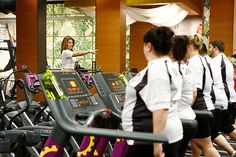 Jillian Michaels loves her treadmill workouts. #BiggestLoser