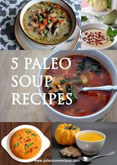 Paleo Soup Recipes www.paleozonerecipes.com