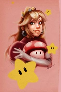 princess peach by ~devilmaru on deviantART