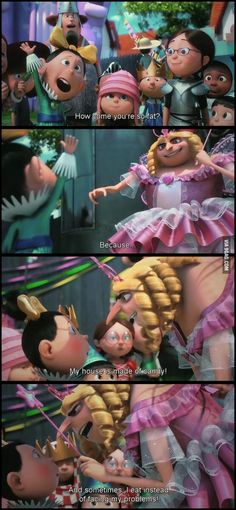 Lool I love this part from Despicable Me 2 