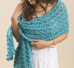 One Skein Patterns: Crochet Made Simple. All of these free crochet patterns use only one skein of yarn, including this beautiful One Skein Wrap.