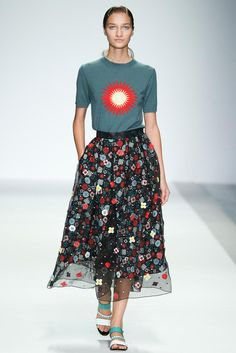 Holly Fulton Spring 2015 Ready-to-Wear