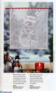 cute snowman filet crochet with diagramm