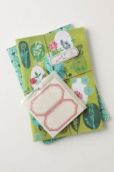 Fanciful Garden Journals $24.00