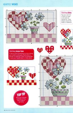 flowers and hearts - 1