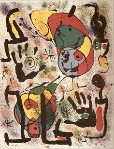Litografia a partir de videntes(1970).  50,80 x 66,04 cm - Coleção particular.