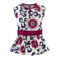 this dress is adorable! i love the pattern and the colors are perfect! #TeaSummer
