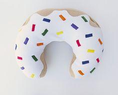 Donut DIY Pillow Pattern | AllFreeSewing.com