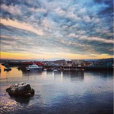 #Monterey Fisherman's Wharf at sunset. #MontereyInstitute