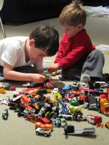 Boy Mama: Thoughts About Playing Cars and Trucks