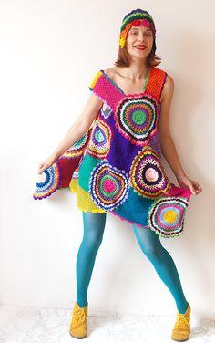 Retro Dress/Tunic by subrosa123 on Etsy, €167.00