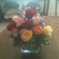 My beautiful Mothers Day bouquet from my daughter and son!