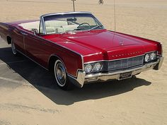 1967 Lincoln Continental Convertible.  What more can you say it's a 4-door, suicide doors, convertible.  Awesome!