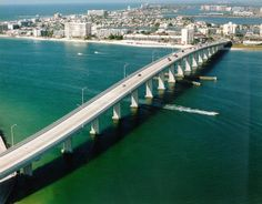 The Bay Causeway from Clearwater to  Tampa