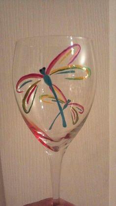 Dragonfly Glass www.facebook.com/kimowensglasspainting
