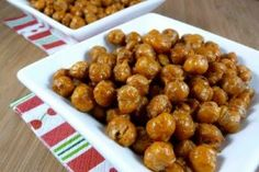 Baked Chick Peas Recipe: http://servedfreshmedia.com/2010/10/chick-peas-on-steroids/