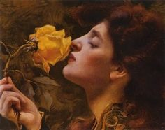 art galleri, art blog, franz dvorak, roses, 1901