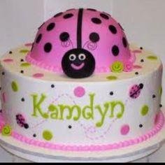 Ladybug cake for boy or girl