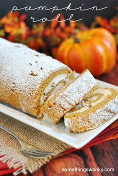 A Pumpkin Cake Roll
