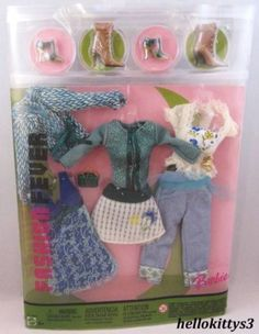 Barbie Fashions 2005 Fashion Fever Closet | eBay