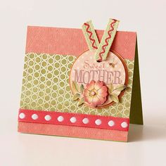 Make this sweet card for Mom this Mother's Day! More simple Mother's Day cards: http://www.bhg.com/holidays/mothers-day/cards/cards-for-mom/?socsrc=bhgpin050613sweetcard=2