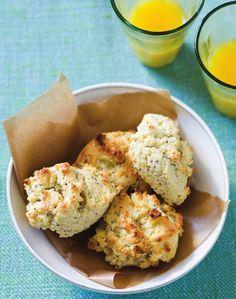 Lemon & Poppy Seed Scones from The Joy of Gluten-Free, Sugar-Free Baking by Peter Reinhart & Denene Wallace