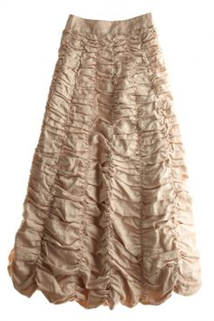 Ruched Long Skirt by Calypso St Barth