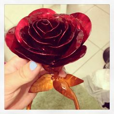 Metal flower art, they'll last longer than real flowers. Welding sheet metal a layer at a time. AldermansResto@gmail.com