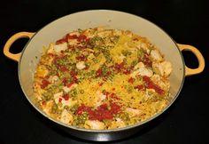 Tomatoes on the Vine: Sunday Supper: Pollo Con Arroz Amarillo (Chicken with Yellow Rice)