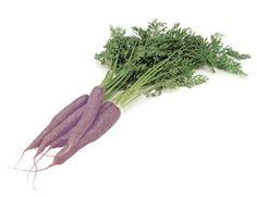 Purple carrots! #purple #food