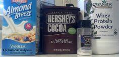 FP Chocolate Milk Ingredients