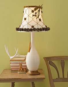 Find out how you can make this rustic lamp in just a few easy steps