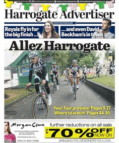 Tour de France Grand Depart - Harrogate Advertiser