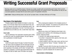 ... Common Mistakes with Grant Writing | Grant Writing | Tender Writing